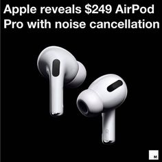 Mac explains why he loves his new AirPods Pro for their passive and active noise cancellation, excellent sound quality, and ear tips. Wireless Router, Wireless Headset, Iphone 7, Free Iphone, Apple New, Airpods Pro, Apple Products, Noise Cancelling, In Ear Headphones
