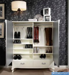 обувница Panamar Fresno Traditional Furniture, Shoe Rack, Shelves, Interior Design, Storage, Closet, Inspiration, Home Decor, Accessories