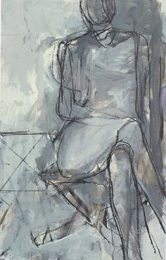 Diebenkorn-Seated-Woman.jpg 438×684 pixels re-pinned by UrnsByArtists.com