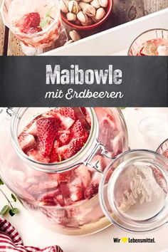 Most recent Photos Maibowle Suggestions Blood and Blood Strawberry Smoothie Recipes Many common smoothie recipes have one thing in accordan Easy Smoothie Recipes, Detox Recipes, Fish Recipes, Smoothies, Smoothie Bowl, Strawberry Smoothie, Strawberry Recipes, Matcha, Keto