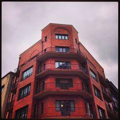 Una esquina en el centro de Oviedo