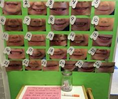 Guess whose smile for preschool dental health week