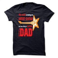I wish is being an Artist guitar T Shirt, Hoodie, Sweatshirts - tshirt printing #shirt #T-Shirts