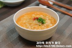 김진옥 요리가 좋다 :: 기대하지 않고 끓였는데... 정말 맛있네요! 김치죽 *^^*