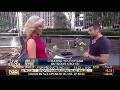 Video of the #OutdoorKitchen segment with Gerri Willis and Anthony Carrino #KitchenCousins