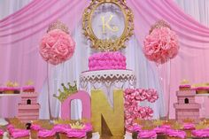 Kylie's 1st Golden Year  | CatchMyParty.com