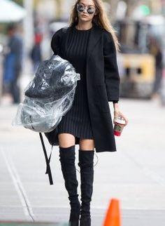 Die Overknee Boots die alle Victoria's Secret Models tragen