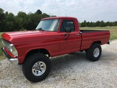 Ford Classic Cars for sale. With a selection that's always changing you can find the latest classic Ford listings on OldCarOnline. Old Ford Trucks, Old Pickup Trucks, Jeep Pickup, Lifted Trucks, Ford 4x4, Lifted Ford, Diesel Trucks, Ford Diesel, Dually Trucks