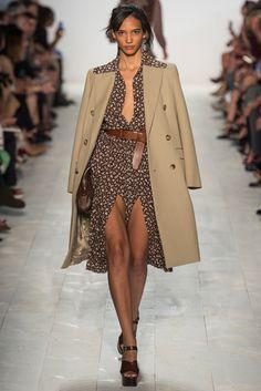 Michael Kors Collection Spring 2014 Ready-to-Wear Fashion Show - Simon Nessman and Karmen Pedaтru