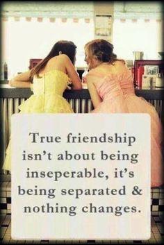 So true. I love my friends.