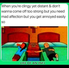 Omg why is this so relatable lol Infj Mbti, Intj, Infj Type, Enneagram Type 2, Infj Personality, E Type, Feelings, Psychology Memes, Funny