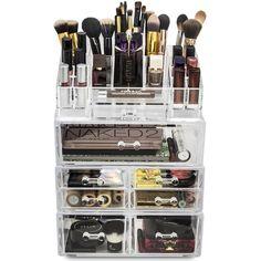 Makeup Storage Set, Cosmetic Storage, Makeup Set, Makeup Organization, Makeup Tips, Eye Makeup, Storage Organization, Beauty Makeup, Storage Ideas