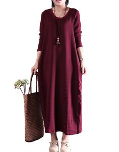 Knit Cotton Skin Texture Dress