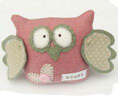 Corujinha #sew #patterns #owl