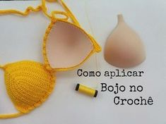 This Pin was discovered by Tik Crochet Diy, Tops A Crochet, Crochet Crop Top, Crochet Crafts, Crochet Projects, Motif Bikini Crochet, Bikinis Crochet, Baby Bikini, Crochet Stitches