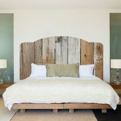 Rustic Wood Headboard Wall Decal Rustic Headboard Wall Mural Wooden Headboard Bedroom Wall Sticker Rustic Wood Bedroom Wall Design Rustique bois t te de lit sticker mural rustique murale t te Headboard Decal, Bed Frame And Headboard, Headboards For Beds, Pallet Headboards, Homemade Headboards, Modern Headboard, Bookcase Headboard, Wallpaper Headboard, Plywood Headboard