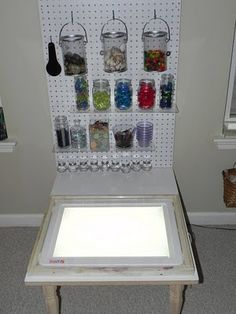 light table...yes please!