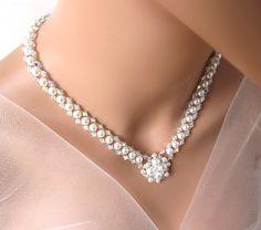 Wedding Jewelry Bridal Jewelry Pearl Bridal by MelJoyCreations