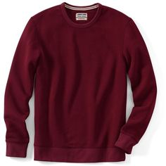 Lands' End Men's Tall Long Sleeve Serious Sweats Crewneck Sweatshirt ($28) ❤ liked on Polyvore featuring men's fashion, men's clothing, men's hoodies, men's sweatshirts, sweatshirts, red, mens crewneck sweatshirts, mens tall sweatshirts, mens sweatshirts and mens crew neck sweatshirts