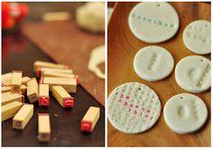 Salt Dough Ornaments and Gift Tags, Salt Dough Recipe Holiday Crafts, Holiday Fun, Christmas Holidays, Felt Christmas, Christmas Decorations, Tree Decorations, Clay Crafts, Fun Crafts, Crafts For Kids