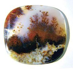 Moss Agate. Russian Birch