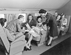 46 Rare Marilyn Monroe Photos Reveal Her Life Before She Was Famous | Bored Panda > Douglas Airview magazine employed models to advertise its American Airlines flights. Here, Norma Jeane shows great interest in the stewardess handing milk (1945)