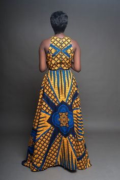 New african fashion outfits African Print Dresses, African Fashion Dresses, African Dress, African Outfits, African Clothes, Fashion Outfits, Fashion Ideas, Women's Fashion, African Prints