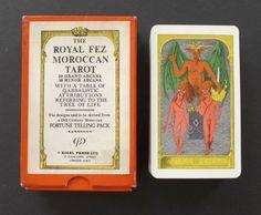 Vintage Morrocan Royal Fez Tarot Cards Deck Rider Waite Clone 1975 Rigel Press | eBay
