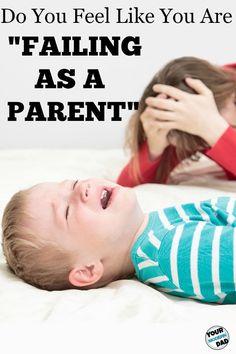 failing as a parent