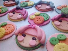 Inspired by the Lalaloopsy Dolls Edible by ThreeMonkeysCakery, $21.00