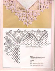 get lace edging crochet patterns Archives - Beautiful Crochet Patterns and Knitting Patterns Crochet Edging Patterns, Crochet Borders, Crochet Diagram, Filet Crochet, Crochet Motif, Crochet Doilies, Stitch Patterns, Knitting Patterns, Crochet Edgings