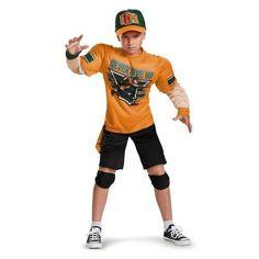 Boys John Cena Classic Muscle Costume