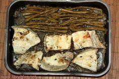 Rodaballo con espárragos / Turbot with asparagus