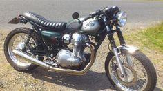 Kawasaki W800 cafe racer 'Zard'