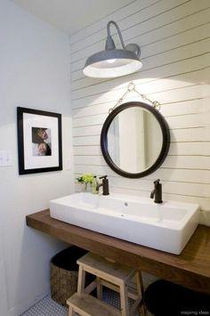 67 Incredible Modern Farmhouse Bathroom Tile Ideas 16