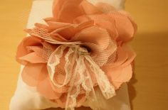 {Bridal DIY} Tulle & Chiffon Fabric Flower TutorialConfetti Daydreams – Wedding Blog