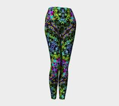 Tribal Tropic Compression fit performance by FarrellFineArt