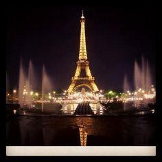 The dream is better in Paris France Instagram