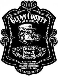 Glynn County Fire Department - Station 7 Logo