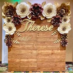Our RUSTIC CHIC BACKDROP made for Therese's special birthday party. Thank you Zeny for trusting us!🌸💖✨#paperflowers #birthdayparty #birthday #birthdaygirl #rustic #paperflowersdecor #party #partydecor #wood #woodenbackdrop #birthdaypartyideas #partyideas #eventplanner #event #rusticchic #eventdecor #elegant  #chic #rusticdecor #beautiful #decor #decoracion #amazing #cute #love #lovelyday #beautifuldetails  #paperflowerwall #madewithlove #abgmartdesign Rustic Birthday Parties, Cute Birthday Gift, Special Birthday, 40th Birthday, Girl Birthday, Paper Flower Wall, Giant Paper Flowers, Rustic Chic, Elegant Chic