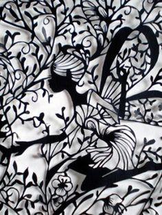 Paper Lace art by Hina Aoyama