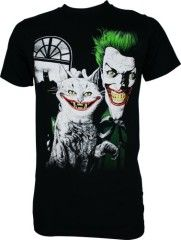 Batman Joker's Cat Men's T-Shirt