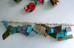 28 Best 2013 Hanging Storage Bag Diy Christmas Advent