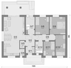House Plans, Floor Plans, How To Plan, Diy, Mocha, Projects, Bricolage, Do It Yourself, House Floor Plans