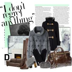 Cold, created by artisabang on Polyvore