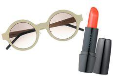 Illesteva Frieda Round Frame Sunglasses + Lancome Color Design Hydra-Balm in Cactus Flower | Refinery29.com
