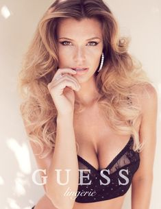Samantha Hoopes Pose for Guess spring-summer 2014 Lingerie campaign