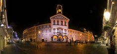 Ljubljana at night by Rafael Kos, via 500px