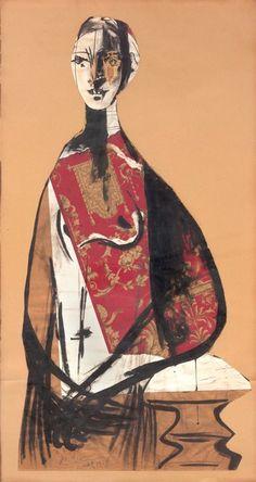 Portrait of a lady, 1928 Pablo Picasso