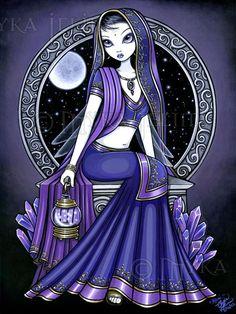 Purple Myka Jelina Art   eBay